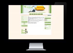 Уеб дизайн на сайт за почистване