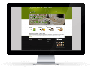 Изработка на сайт за почистваща фирма